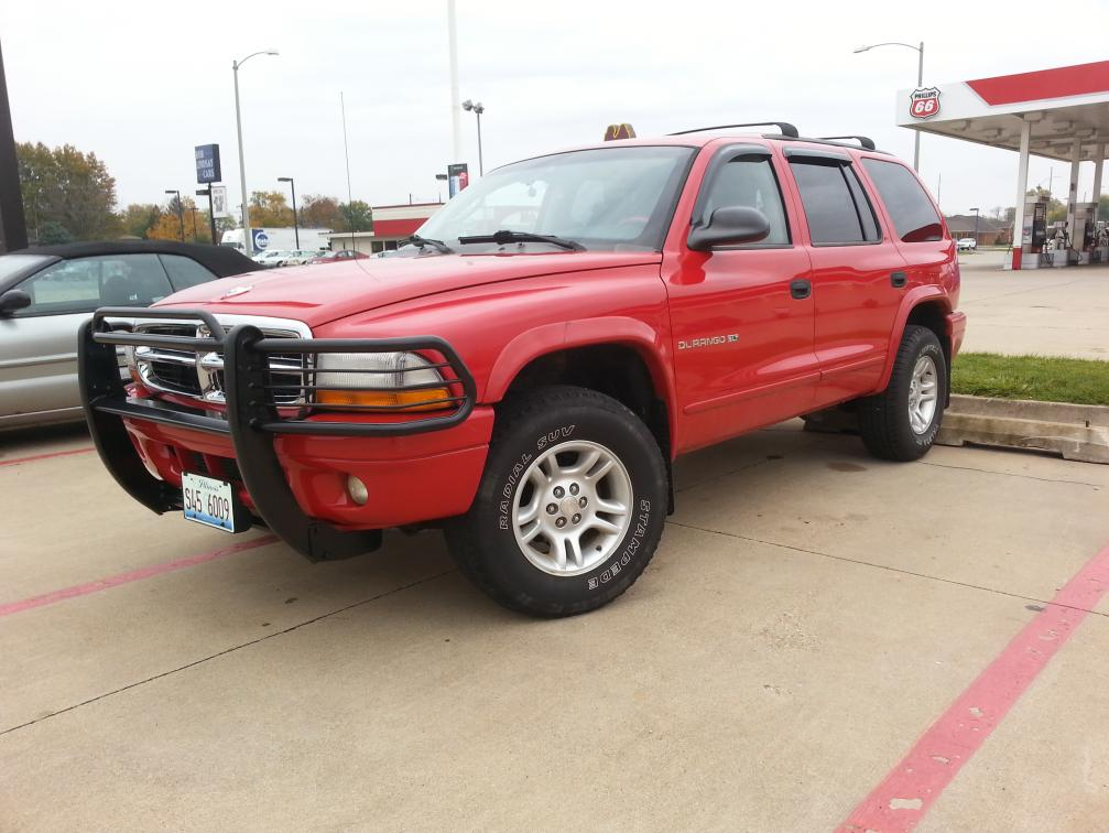 2001 Durango Big Red  My Daily Driver that I constantly tinker
