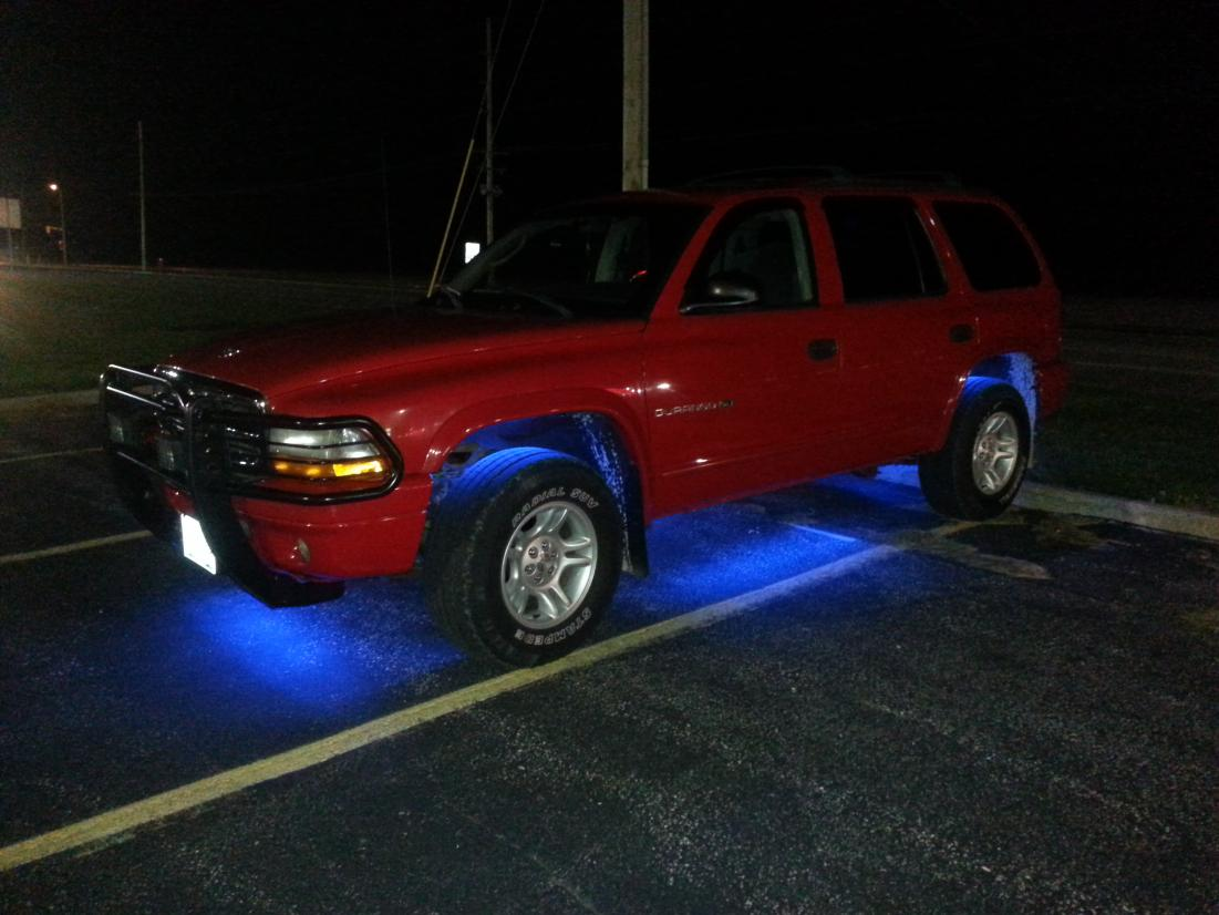 2001 durango quot big red quot my daily driver that i constantly tinker
