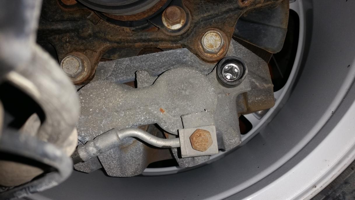 D Brake Caliper Removal on 05 Dodge Durango Limited