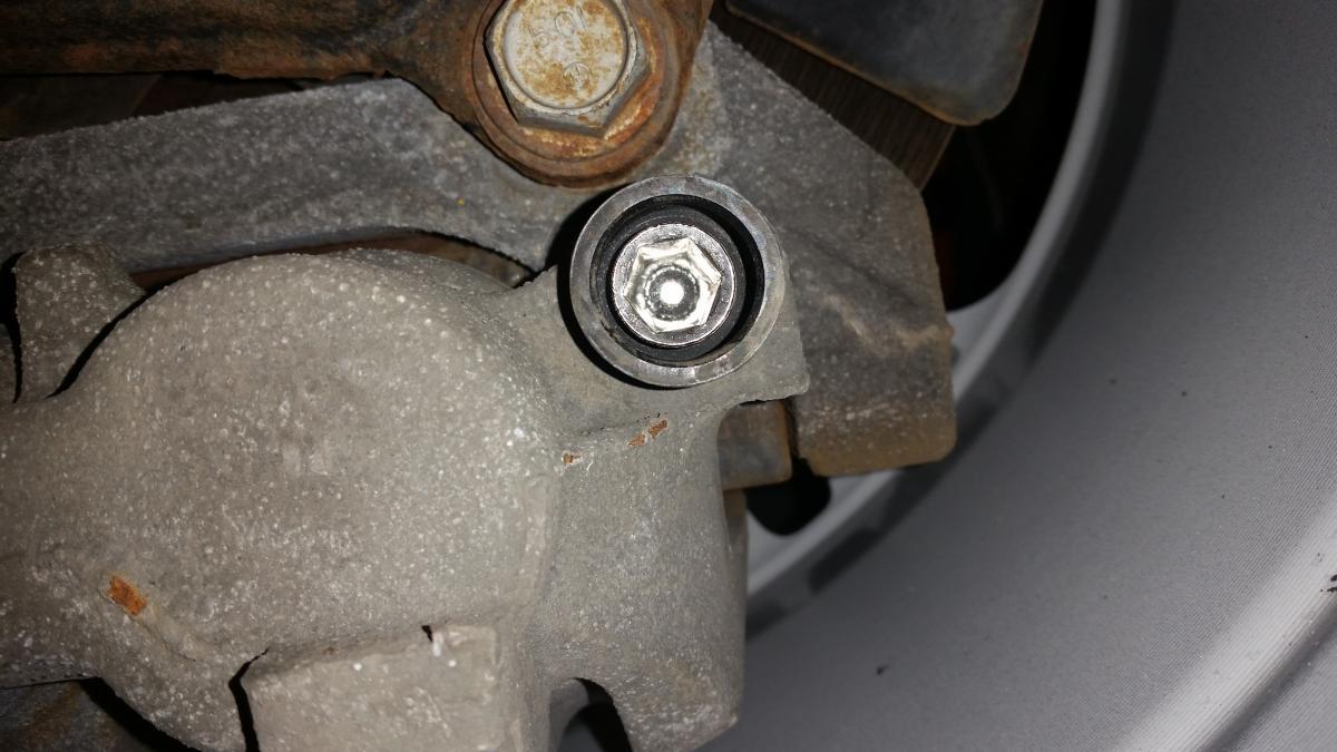 D Brake Caliper Removal