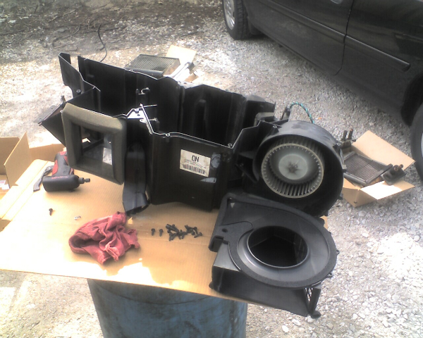 D Heater Core Blower Motor Evap Replaced W H on 2000 Dodge Durango Heater Core Replacement