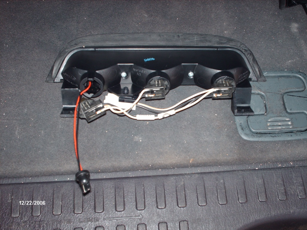 Led Rear Third Brakelight Replacement Install How To 2 Lights Installed Jpg