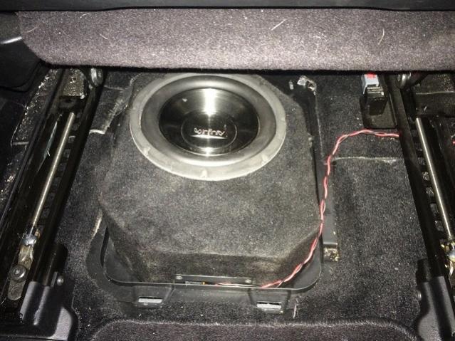 Underseat Sub Install