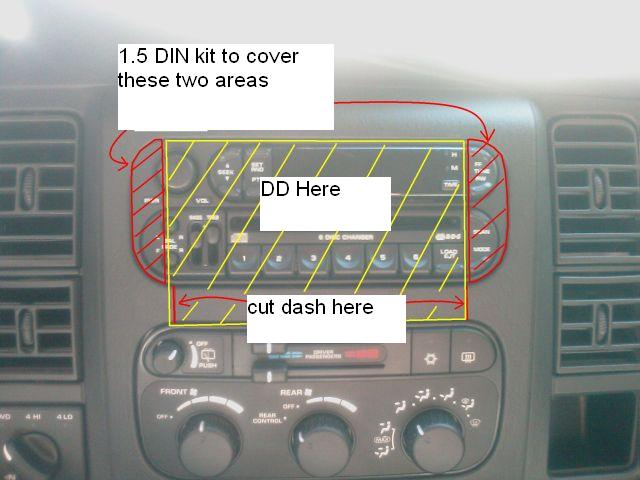 D Gen Durango Double Din Receiver Discussion on 2009 Dodge Dakota