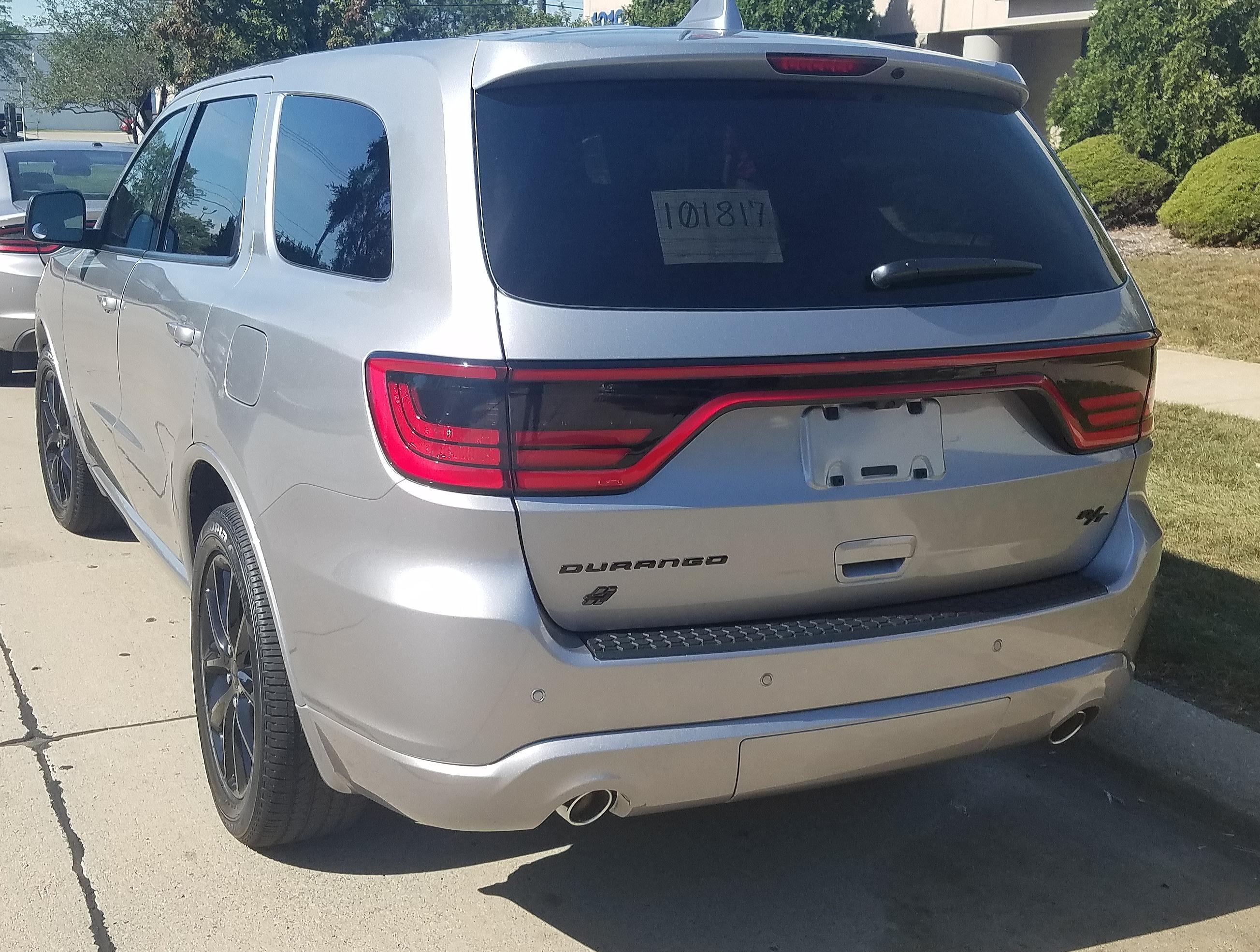 Ok They Got Me Rear Tail Light Tint Dodge Durango Forum