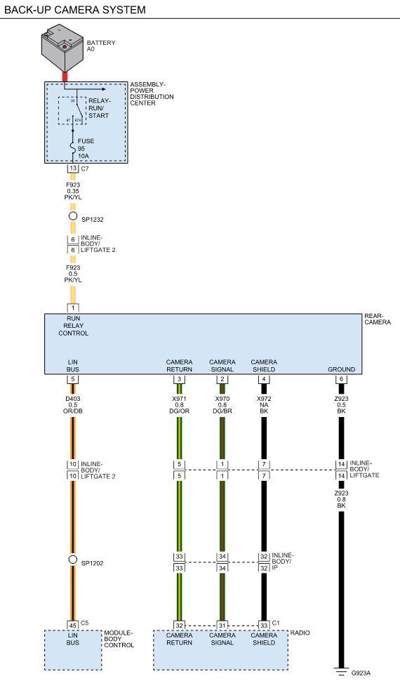 Backup Camera Wiring Diagram from www.dodgedurango.net