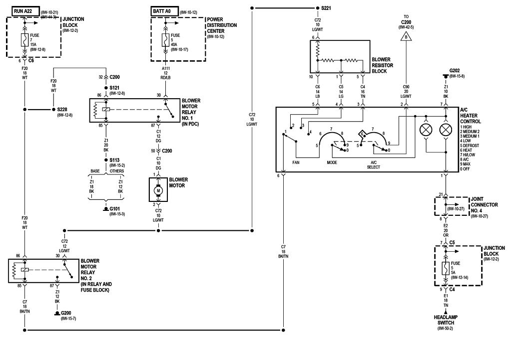 Help with AC Blower Motor – Dodge Dakota Fan Wiring