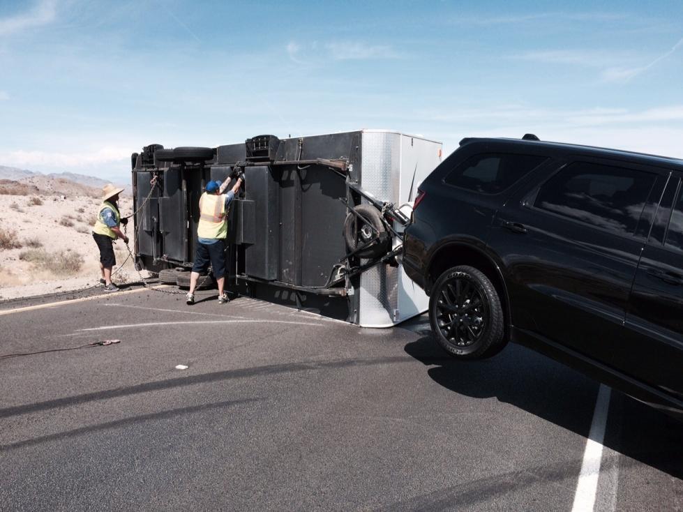 Dodge Durango Towing Travel Trailer
