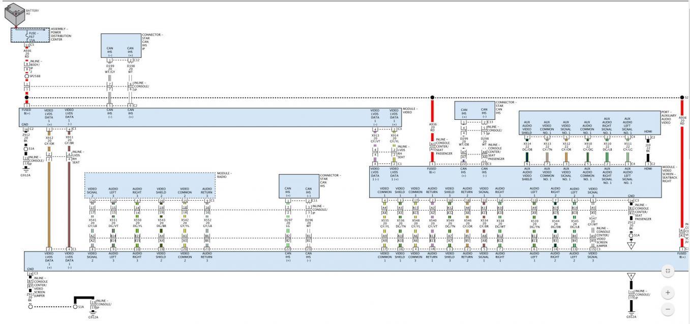 2014 ves rear entertainment wiring diagram | dodge durango forum  dodge durango forum