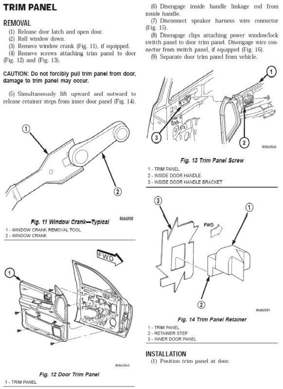 D Replace Stock Infinity Speakers Door Trim Panel on 2002 Dodge Durango Door Panel Removal