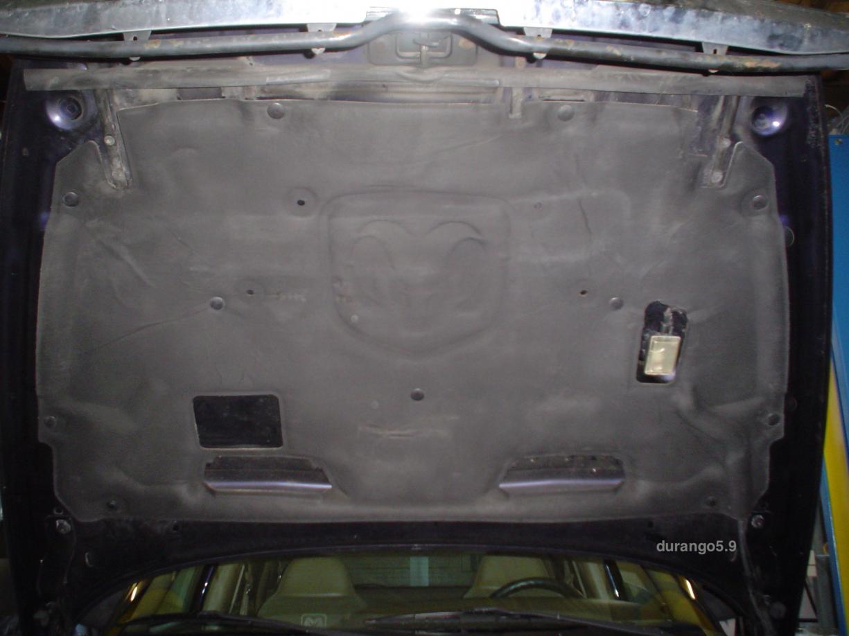 Hood Insulation Dsc01881 Jpg Dsc01911