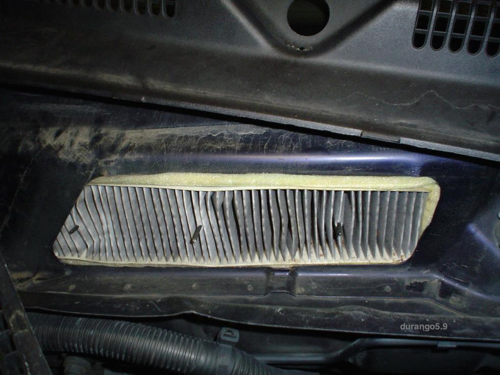 Diy Cabin Air Filtration System For 1st Gen Dodge Durangorhdodgedurango: Dodge Ram 2500 Cabin Filter Location At Gmaili.net