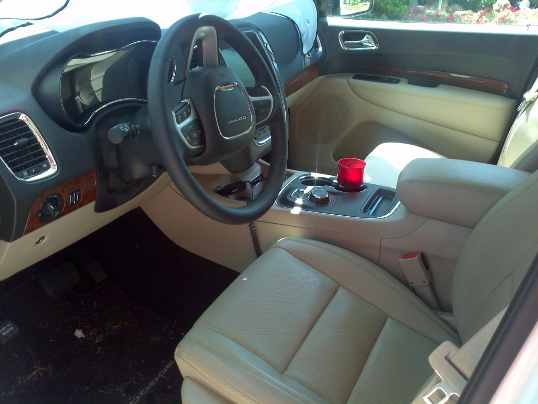 Black/Tan Interior Question Durango Front Seats ...