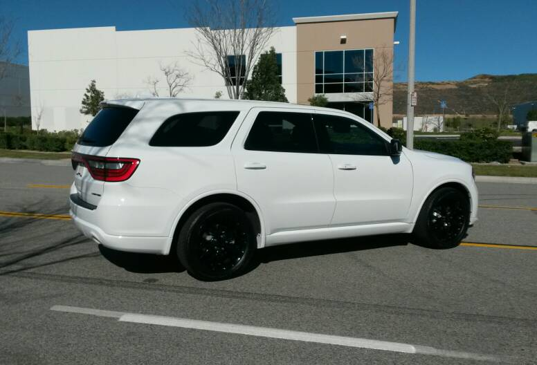 2015 White Limited Blacktop