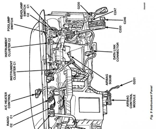 2001 dodge dakota ctm wiring diagram