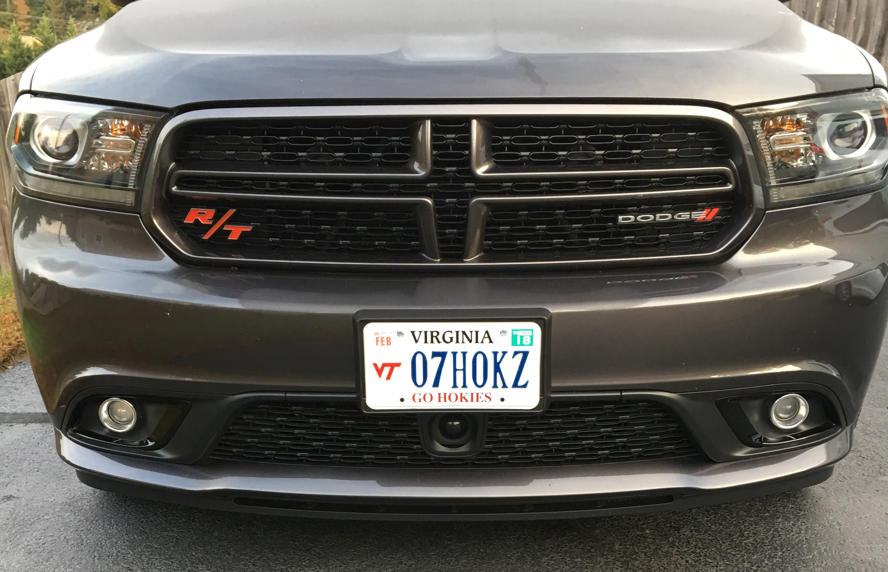 R T Badge Added To Front Grille Dodge Durango Forum
