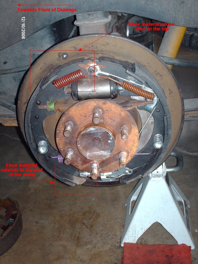 Gen1 Rear Drum Removal Page 2 Dodge Durango Forum