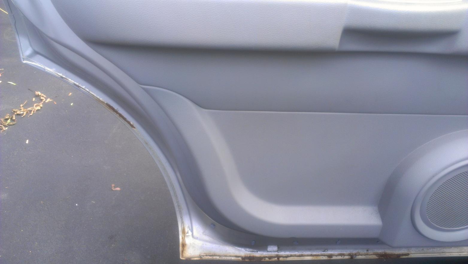 & My 2008 Durango Door Panel Rust pezcame.com