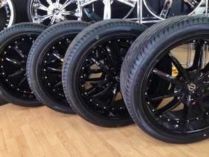 Dodge Durango Lug Pattern >> New 22 Inch Black Wheels 2014 Durango Dodge Durango Forum