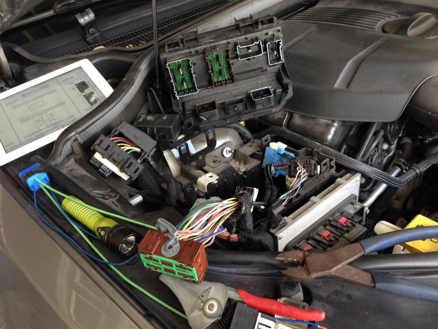 Durango Tipm Issues Image on 2011 Jeep Grand Cherokee Battery Location