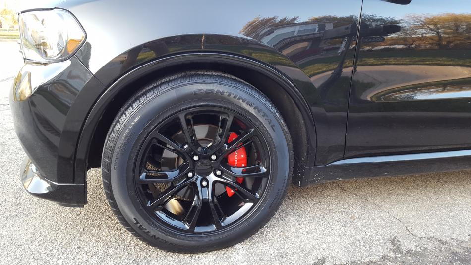 Winter Shoes Are One 2012 Jeep Srt 20x10 Gloss Black