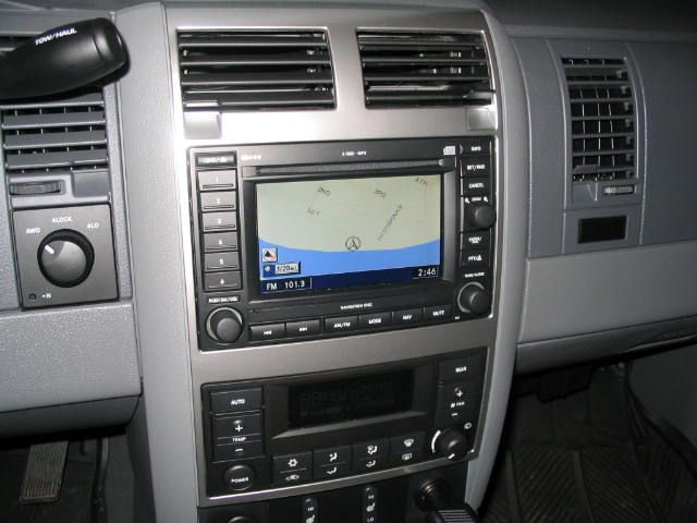 D Navigation Radio Install Pictures Img on 04 Dodge Durango