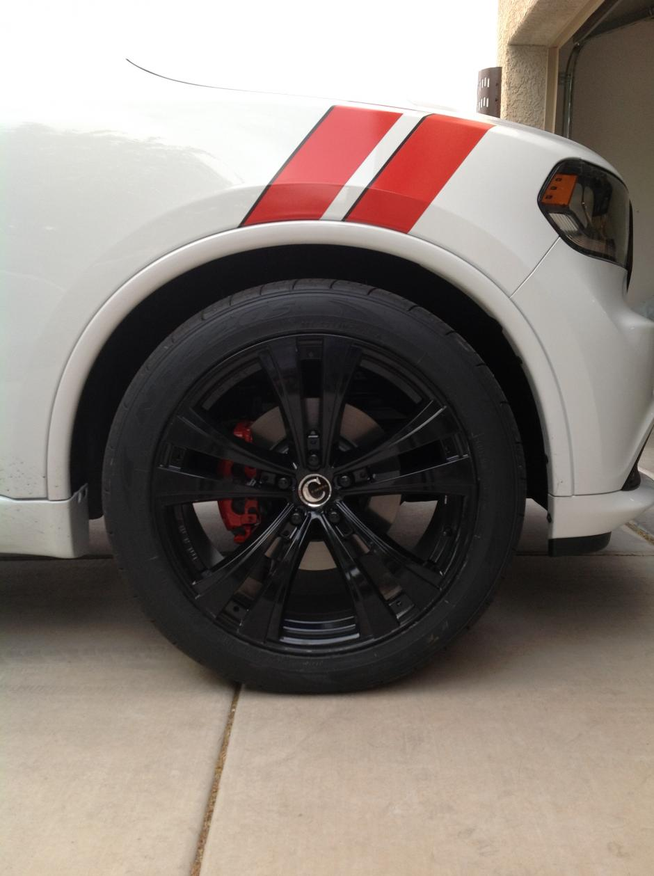 """22 x 10.5"""" wheels finally mounted and other pics"""