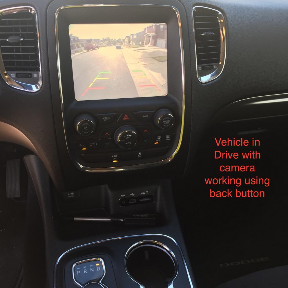 Aftermarket backup camera install questions