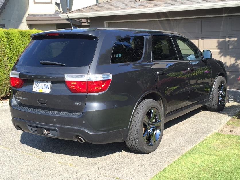 Rt 46 Jeep >> Pictures of R/T Durango's with Jeep SRT wheels - Page 5