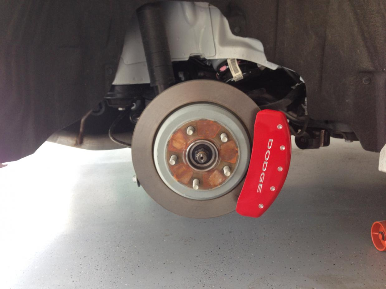 D Rear Caliper Cover Install R T Img on 2004 Dodge Durango Interior