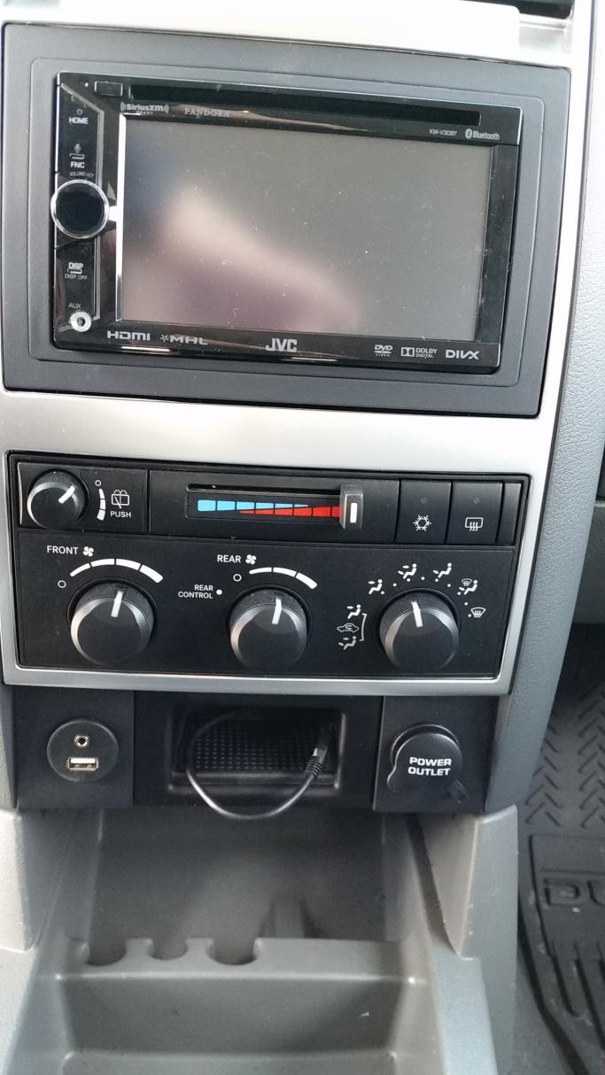 Double Din Radio Won T Fit Dodge Durango Forum