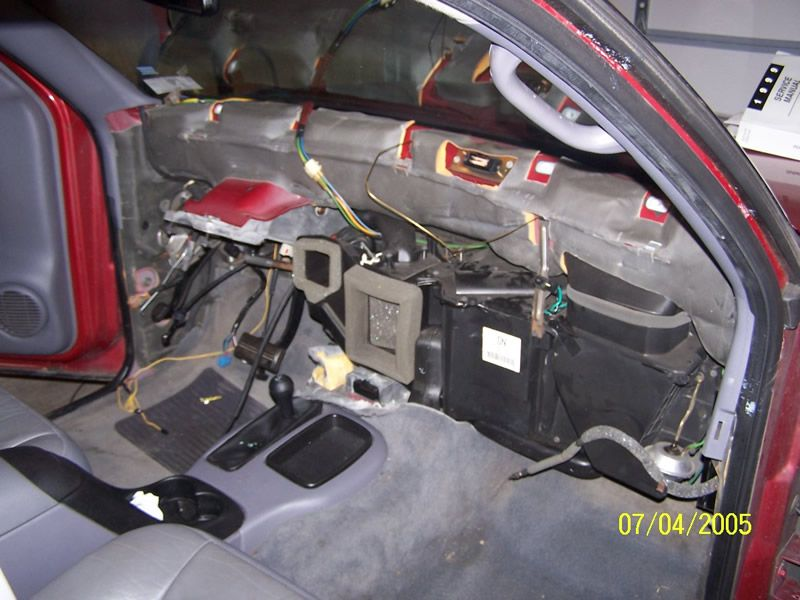 D Heater Core Replacement Finished Nodash on Dodge Durango Heater Core Replacement