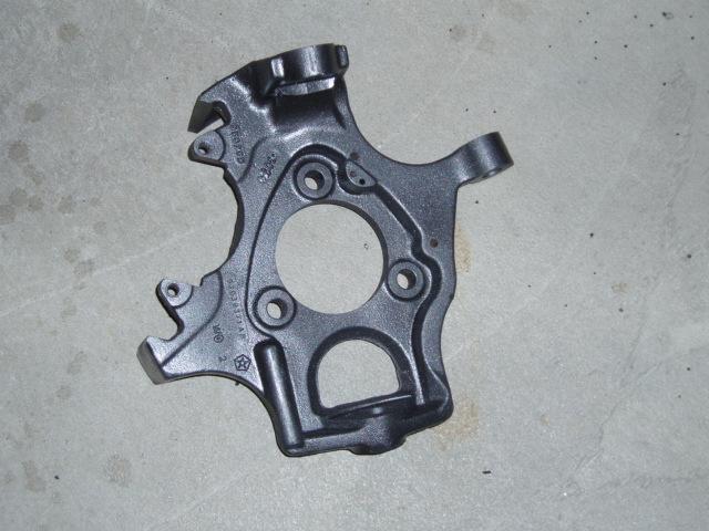 D Stripped Steering Knuckle Holes P on 2009 Dodge Durango