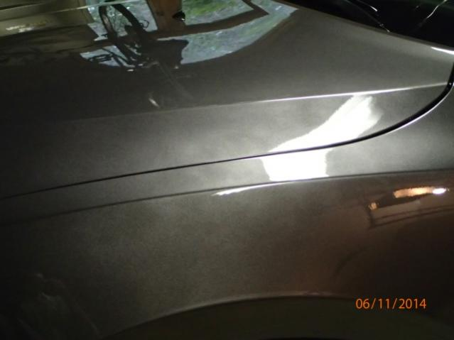 Blotchy Paint On Car