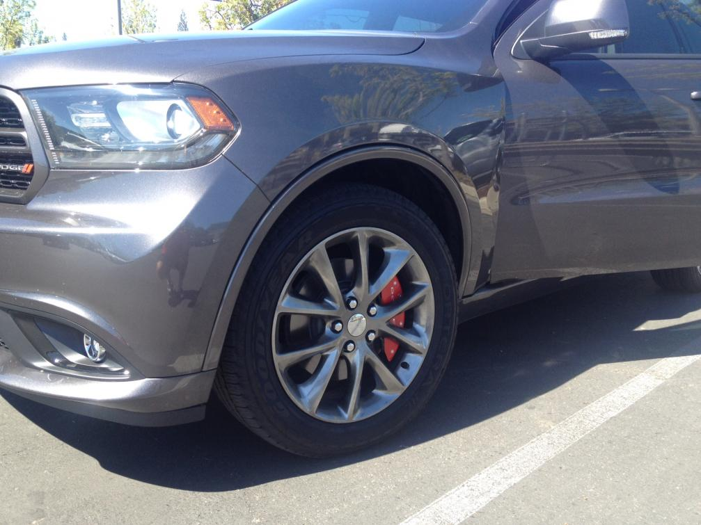 Pics Red Caliper Covers On My 14 Rt