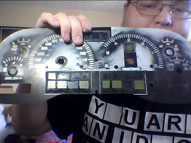1999 dodge ram instrument cluster