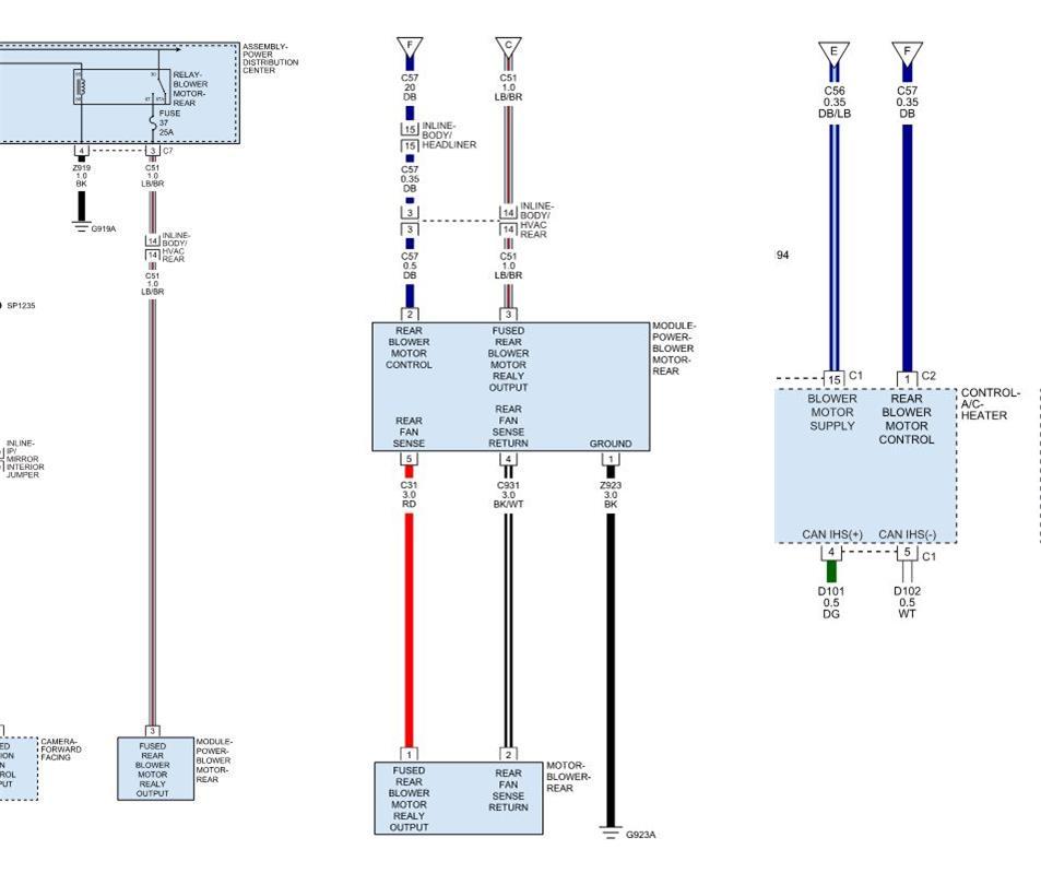 2000 durango blower wiring diagram rear a c not blowing need help dodge durango forum  rear a c not blowing need help dodge