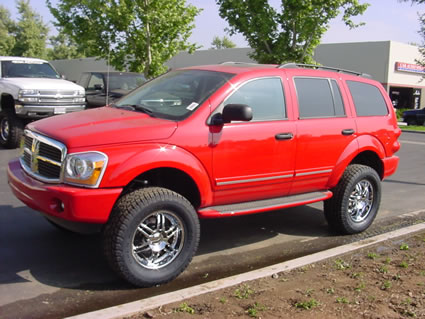 D Does Anyone Have Pics Lifted Gen D Thx Redlift on 05 Dodge Durango Lifted