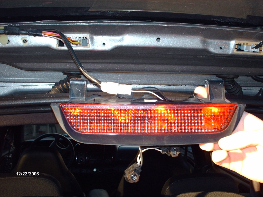 Led Rear Third Brakelight Replacement Install How To Stock Loose Jpg
