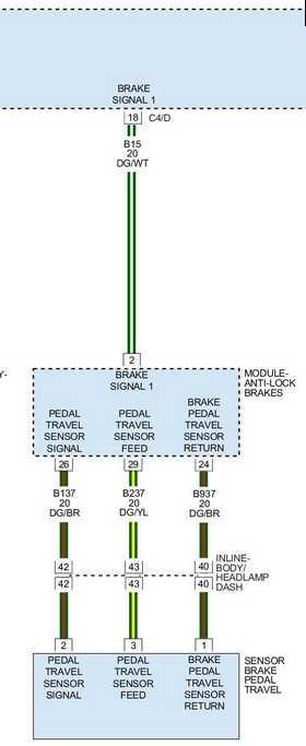 3rd Gen Brake Light Wire Diagram For Brake Flash Mod Dodge Durango Forum
