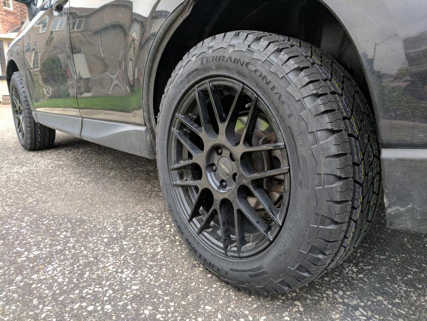 275 55 20 Tire Size