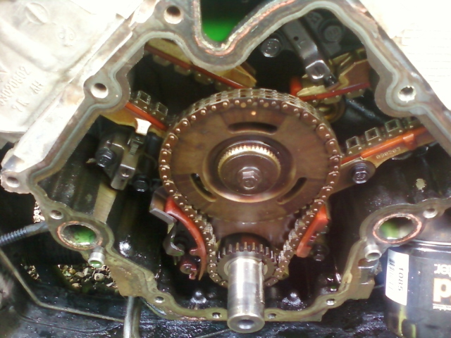 D Timing Chain Replacement Timing Gears on Dodge 2 7 Timing Chain Marks