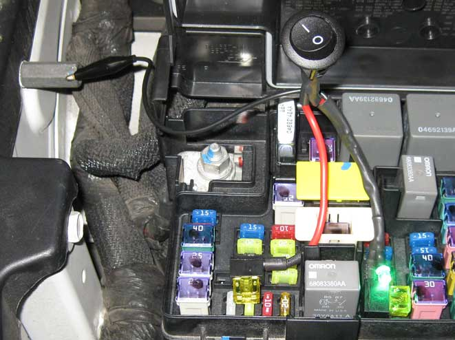 2011-2012 Dodge RAM 1500 TIPM Fuel Pump Relay Repair//Replacement Service