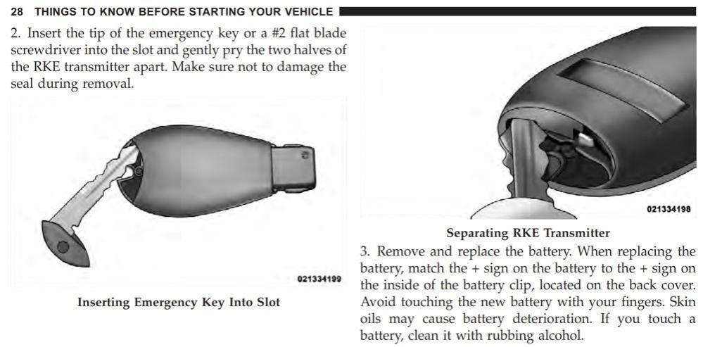 Key Fob Battery Low >> 2013 Durango Key Fob Battery Dodge Durango Forum