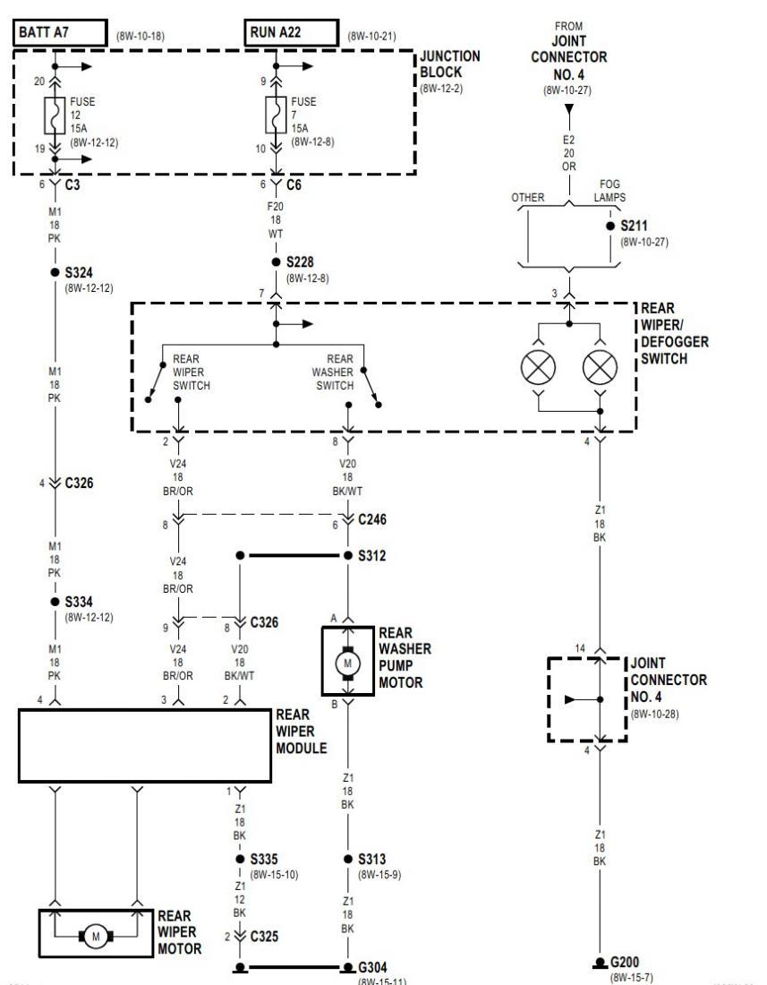 1998 Durango Wiring Diagram