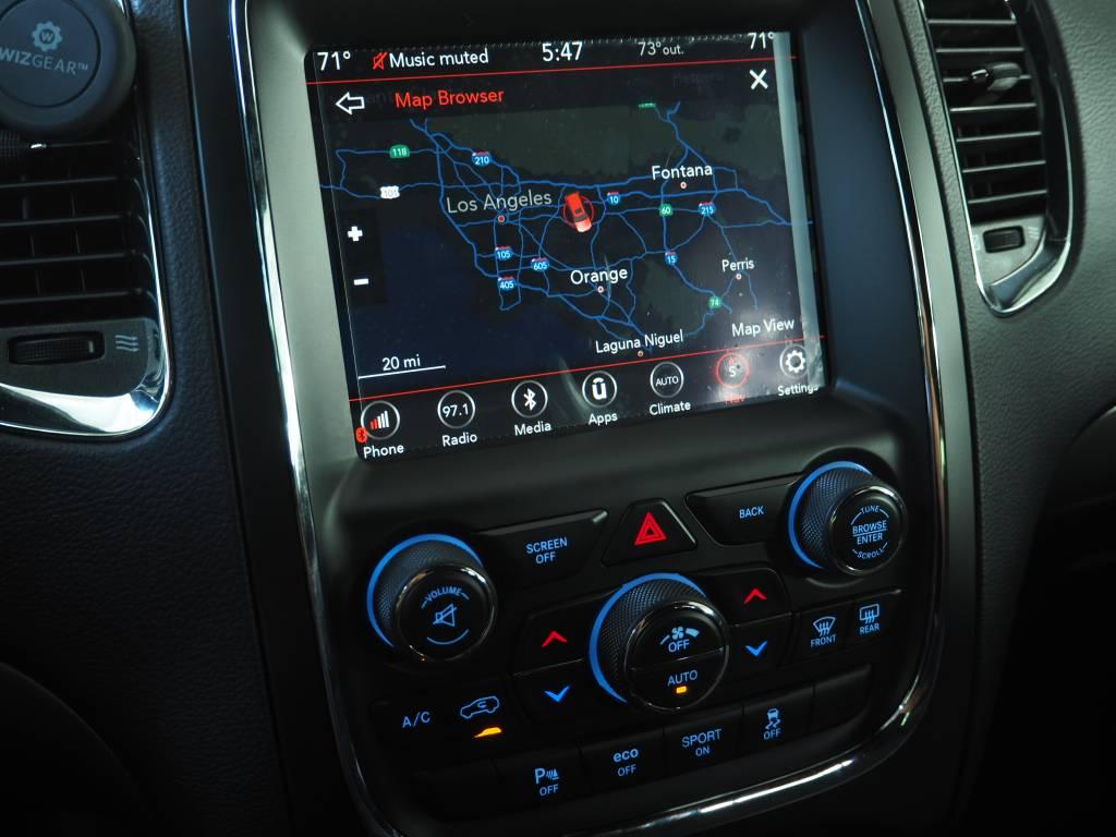 Radio Upgrade - UConnect 8 4 4C UAQ installed on 2017 RT   Dodge
