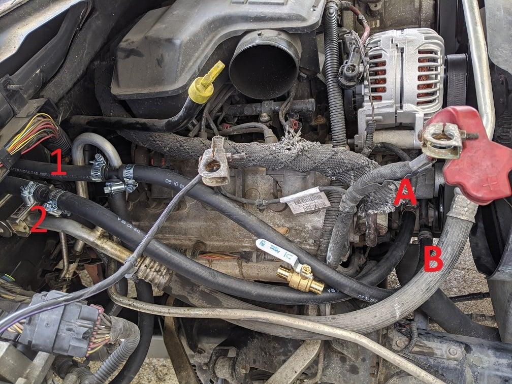 2004 5.7 Coolant Routing - Aux Water Pump Delete | Dodge Durango ForumDodge Durango Forum