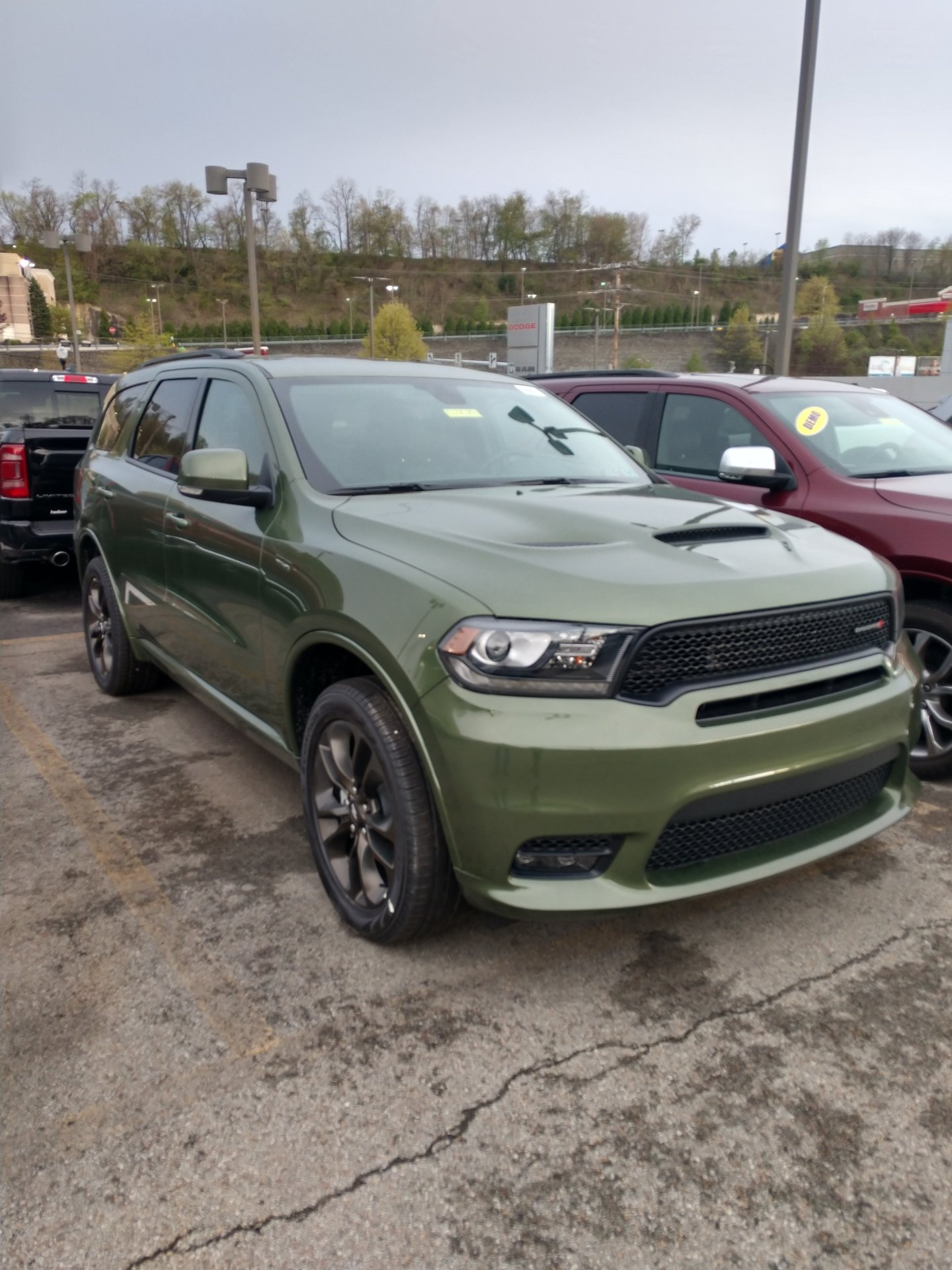 dodge durango srt army green F2 Green SRT  Dodge Durango Forum