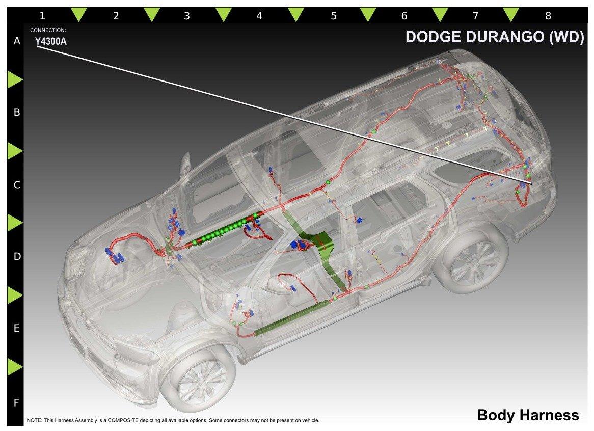 Tow Wiring Harness Dodge Durango