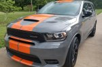 Orange Stripes on Destroyer Grey